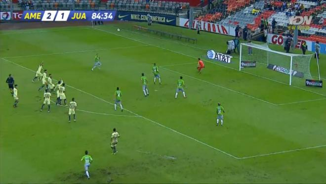 Offside trap gone wrong