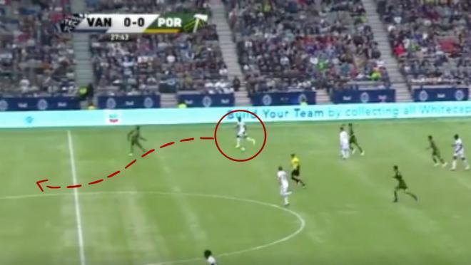 Alphonso Davies goal vs Portland