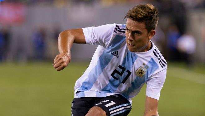 Paulo Dybala first Argentina goal
