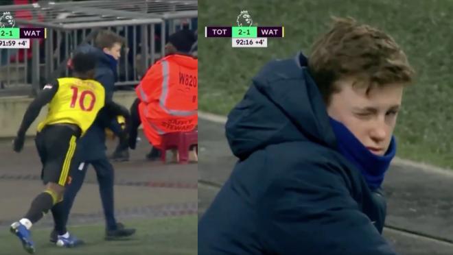 Tottenham Ball Boy vs Watford