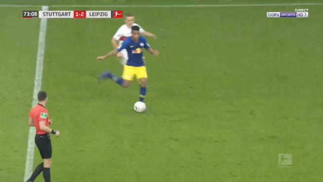 Tyler Adams Assist vs Stuttgart