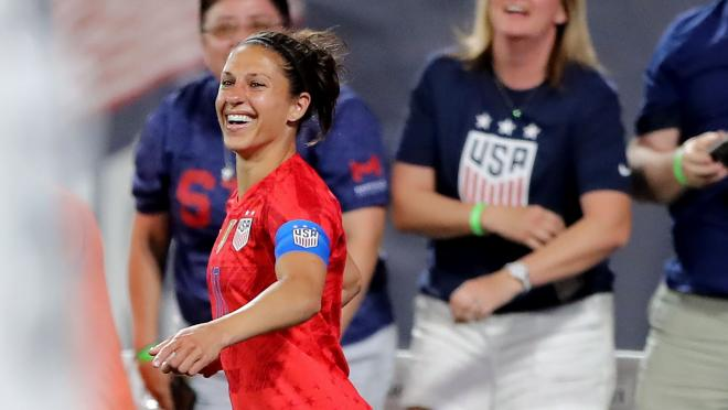 Carli Lloyd vs New Zealand
