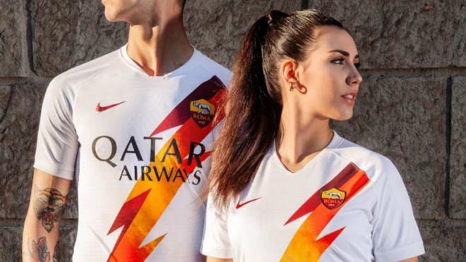 AS Roma away jersey