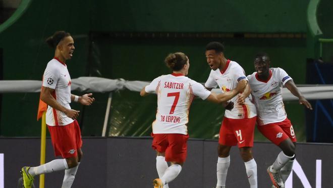 Tyler Adams Goal vs Atlético Madrid