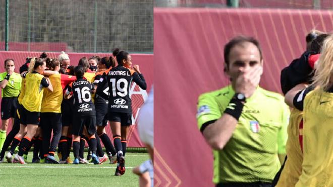 AS Roma Women Bicycle Kick Goal vs. Inter Milan