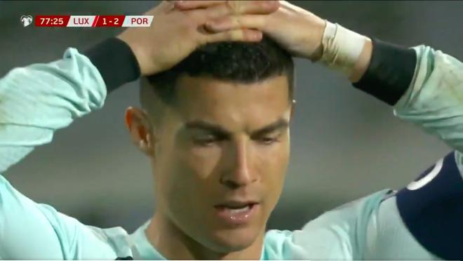 Cristiano Ronaldo miss