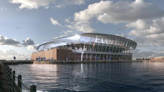 Everton new stadium photos
