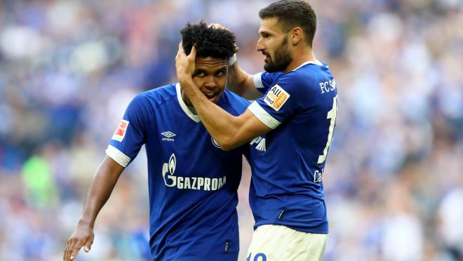 Weston McKennie Schalke assist