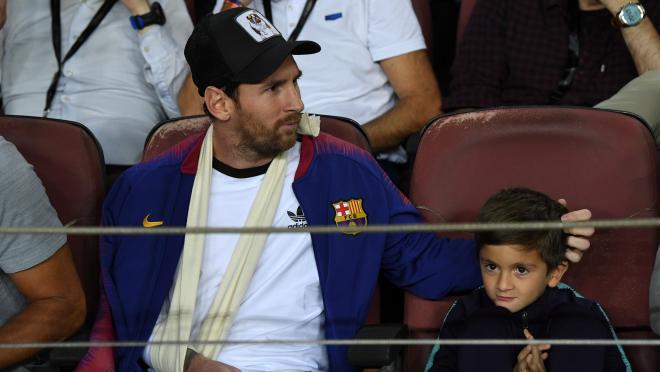 Lionel Messi injury update