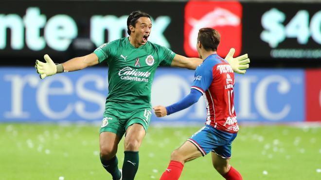 Tono Rodriguez goal Chivas vs Veracruz