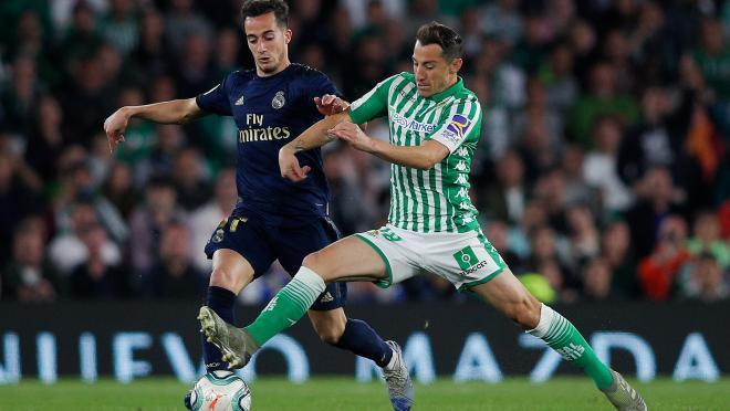 Andres Guardado vs Real Madrid