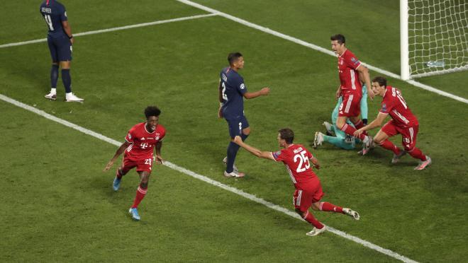 Kingsley Coman goal vs PSG