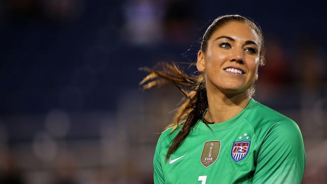 Hope Solo baby