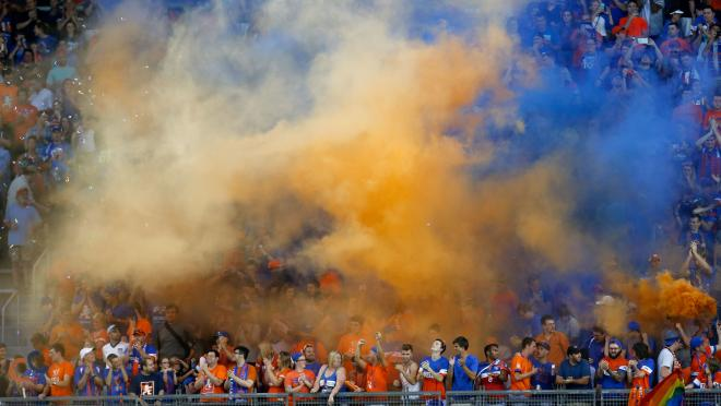 FC Cincinnati home opener in MLS