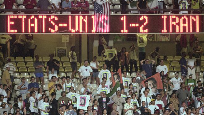 USA at World Cup 1998