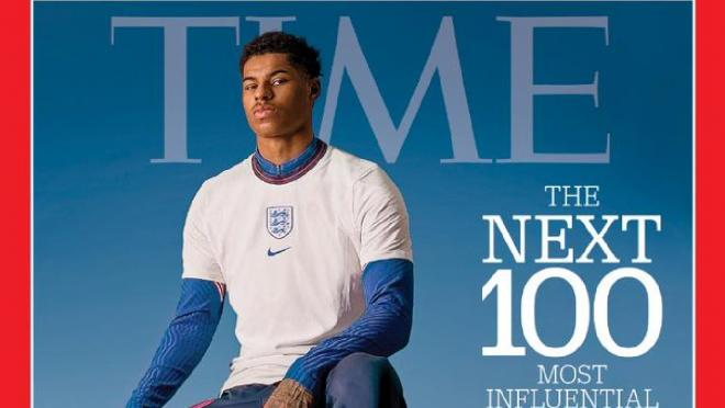Marcus Rashford TIME magazine