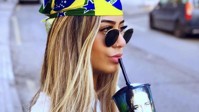 Neymar sister Rafaella Beckran