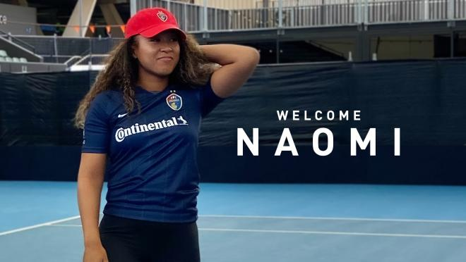 Naomi Osaka NC Courage
