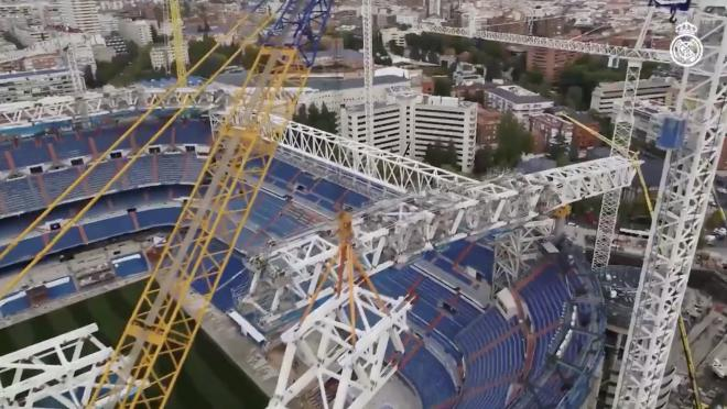 real madrid stadium renovation completion date