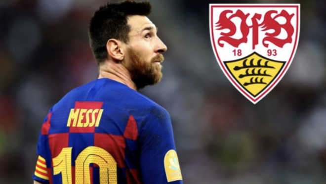Messi to Stuttgart
