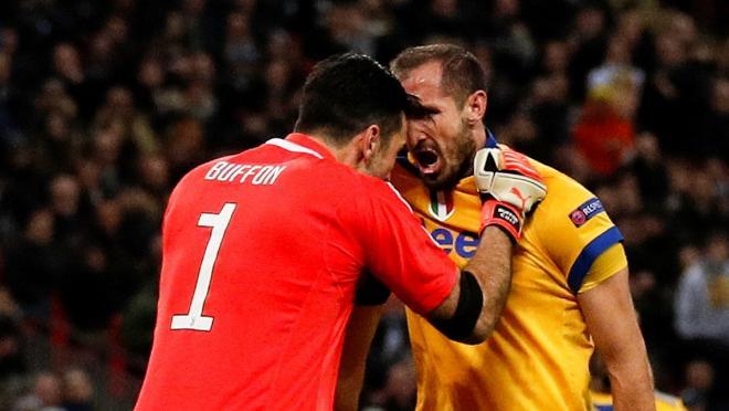 Buffon and Chiellini