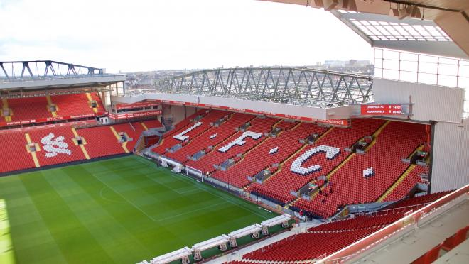 Photos of Liverpool's Anfield