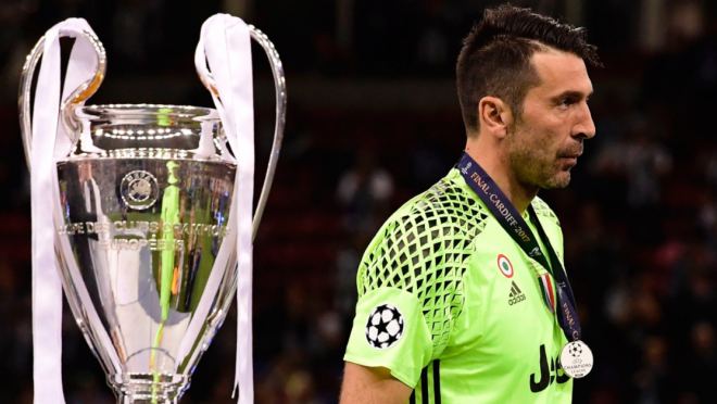 Buffon says he still has another chance at Champions League