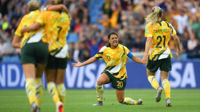 Sam Kerr Quote About What Inspires Her