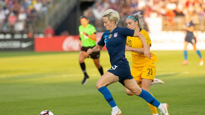 Megan Rapinoe On The France vs USA Match-Up This Friday