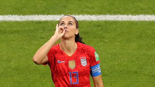 Alex Morgan Tweet After Beating England In The Semifinals