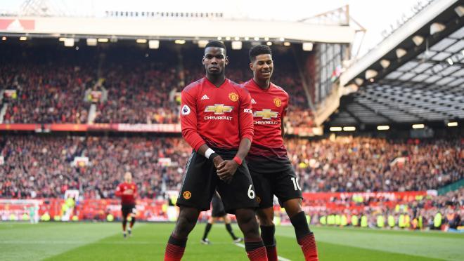 Marcus Rashford Stands Up For Paul Pogba