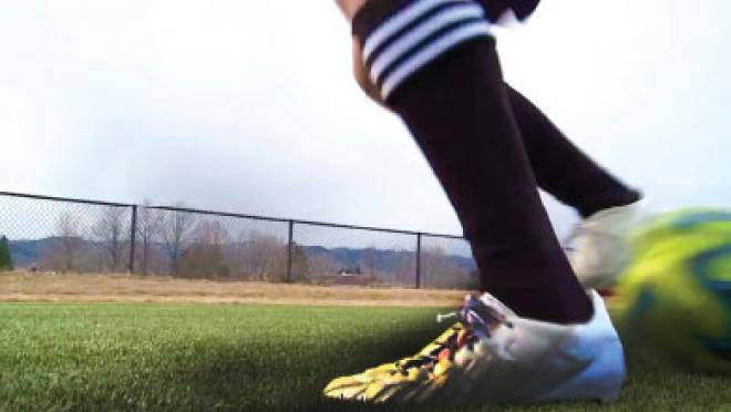 Behind Foot Flick Soccer Skills Video