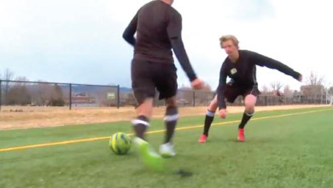 Drag & Scissor Soccer Skills Video