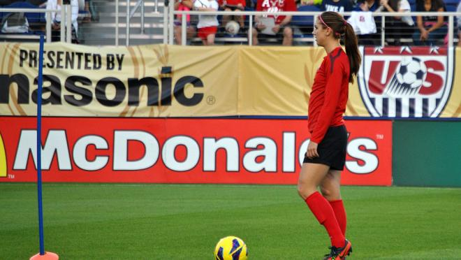 Alex Morgan Training