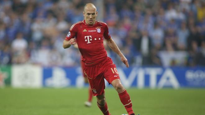 Arjen Robben Dribbling