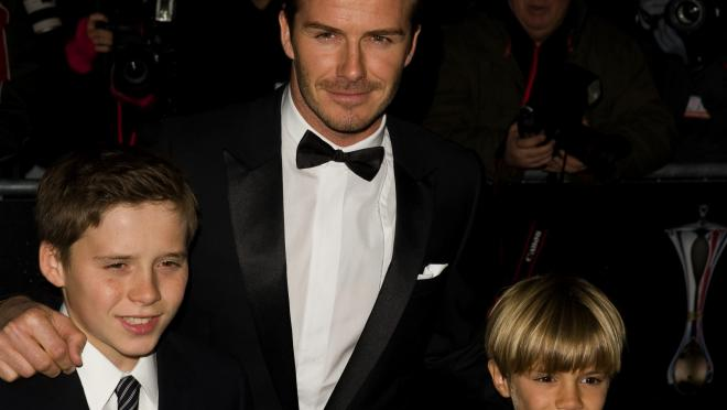 David Beckham and Sons