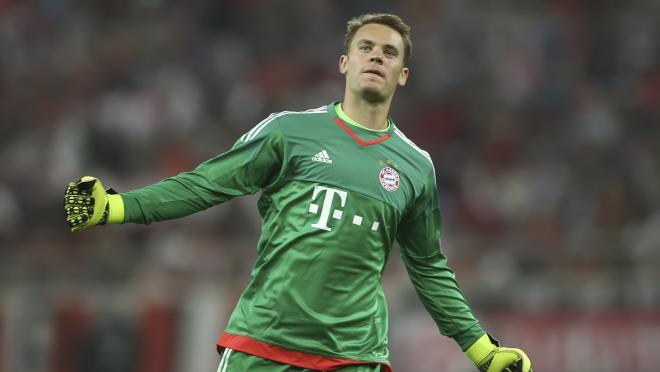Manuel Neuer Celebration
