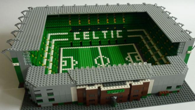 Celtic Park Lego Soccer Stadium