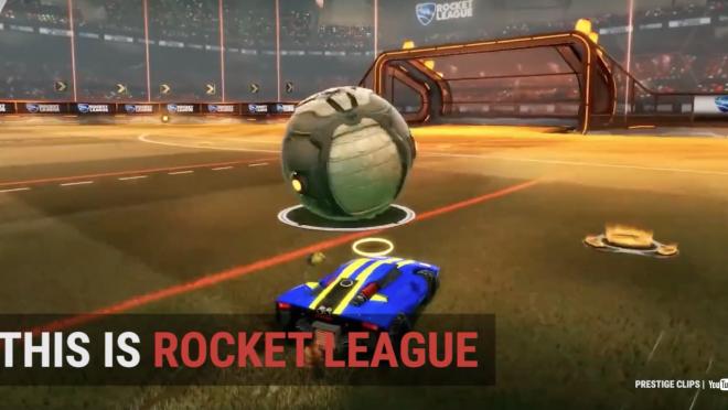 Rocket League Soccer