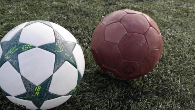 New vs Old Soccer Ball Comparison
