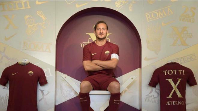 Francesco Totti Tactics at Roma