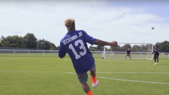 Odell Beckham Jr. Soccer Skills