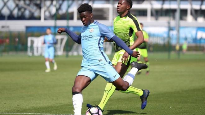 14-Year-Old Manchester City phenom Taylor Richards