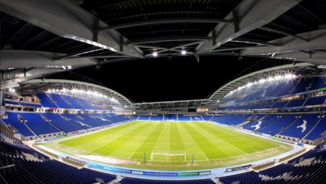 Brighton and Hove Albion Stadium Story