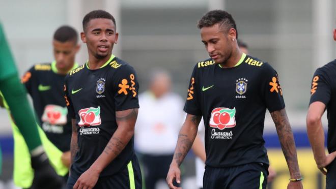 Fut Mesa, Neymar, Brazil