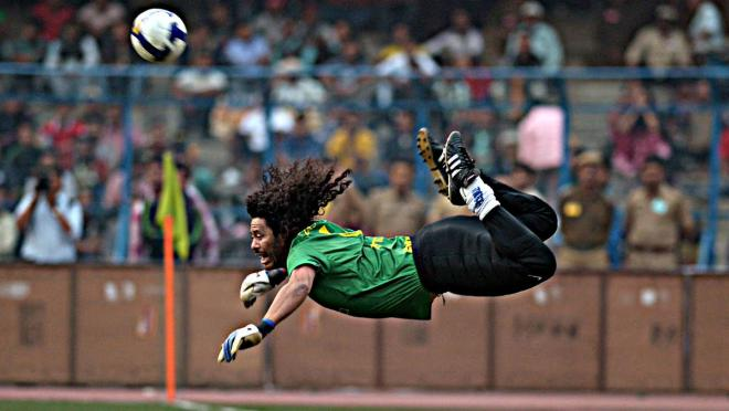 Rene Higuita Scorpion Kick Throwback
