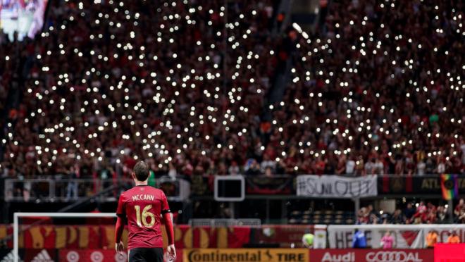 Atlanta United Playoff Atmosphere