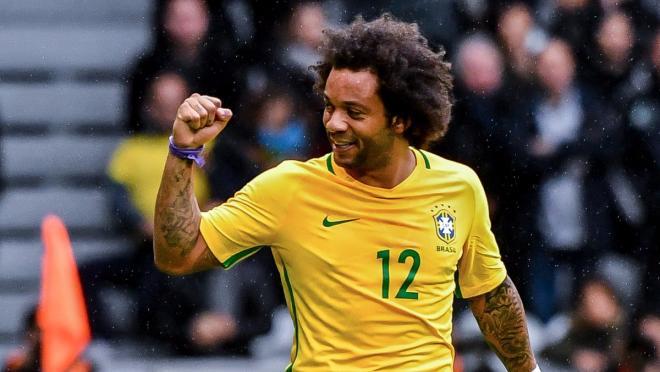 Marcelo Goal For Brazil Against Japan