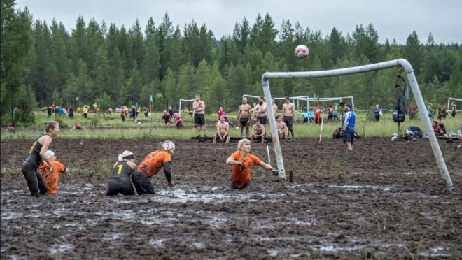 Finland Swamp Soccer