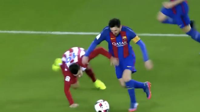 Messi Dribbling Highlights 2017